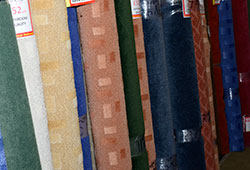 Carpet remnants at excellent prices